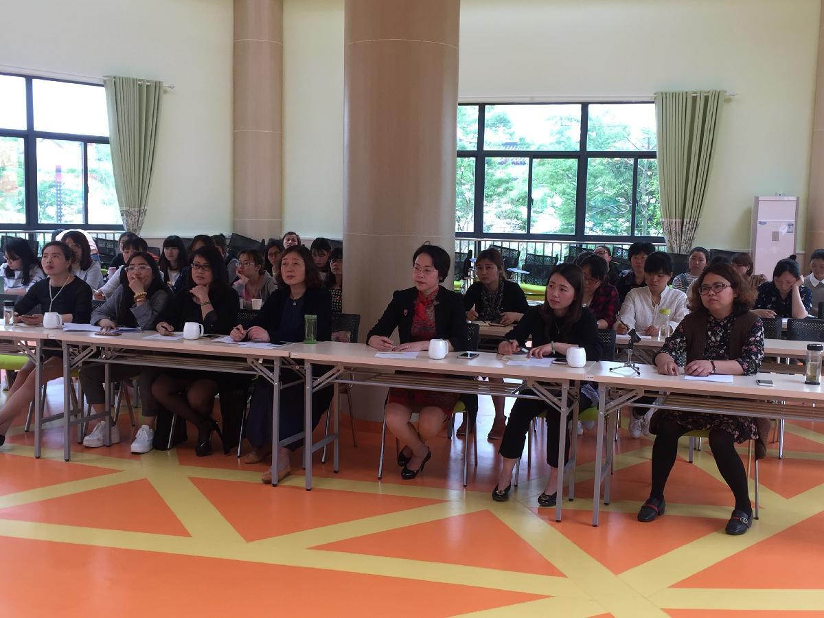 茅山风景区中心幼儿园开展微课程故事讲述活动