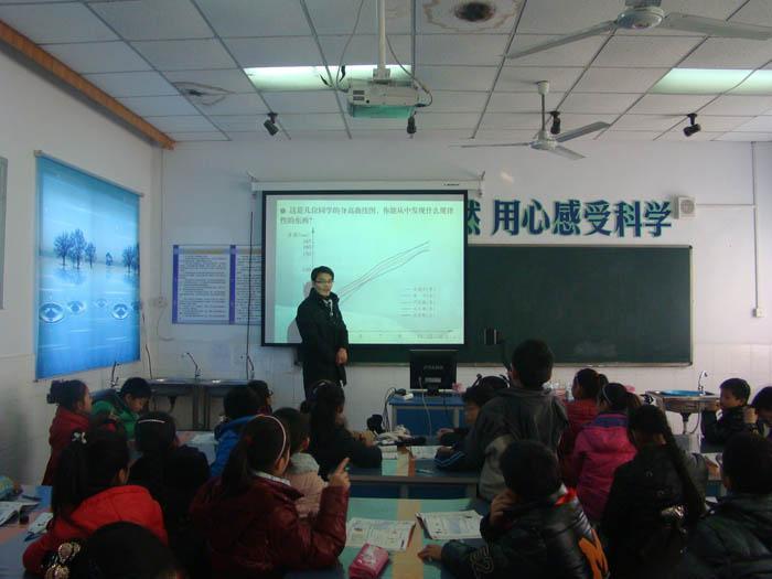日,市实验小学与南京市北京东路小学联合举办了 善学课堂 与名校同图片